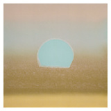 Sunset, 1972 (gold, blue) Art by Andy Warhol
