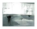Silver Silence: Watercolor and Mist Kunstdrucke von Joan Davis