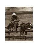 Smokin' Cowboy Art by Barry Hart