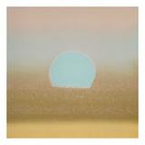 Sunset, 1972 (gold, blue) Poster von Andy Warhol