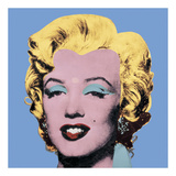 Shot Light Blue Marilyn, 1964 Posters af Andy Warhol