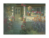 Sunlit Porch Prints by Allan Myndzak
