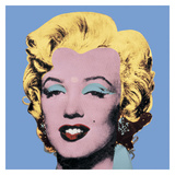 Shot Light Blue Marilyn, 1964 Poster af Andy Warhol