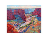 Stream of Light Print by Erin Hanson