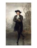 Patineur Posters par Gilbert Stuart
