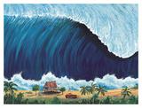Shorebreak Art by Rick Romano