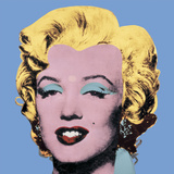 Shot Light Blue Marilyn, 1964 Poster by Andy Warhol