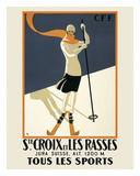 Ste. Croix Planscher av  Vintage Posters