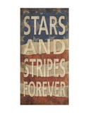 Stars and Stripes Forever Plakater af  Sparx Studio