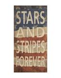 Stars and Stripes Forever Affischer av  Sparx Studio