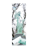 Statue of Liberty Collage Prints by Erin Clark