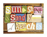 Sunshine And Sandy Beaches Prints by  Norfolk Boy