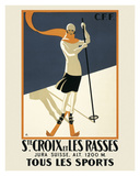 Ste. Croix Giclee Print by  Vintage Posters