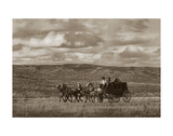 Stagecoach Run Posters af Barry Hart