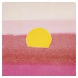 Sunset, 1972 (pink) Art by Andy Warhol