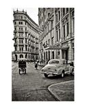Streets of Havana Print by Sabri Irmak
