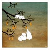 Sugar Plum Tree Plakater af Kristiana Pärn
