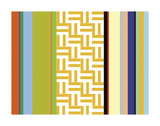 Striped Key Poster by Dan Bleier