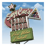 Suzy Cue's Game Room Plakat af Anthony Ross