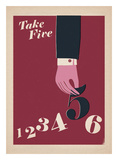 Take Five Póster por Anthony Peters