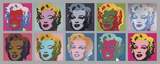 Ten Marilyns, 1967 高品質プリント : アンディ・ウォーホル