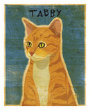 Tabby (orange) Print by John W. Golden