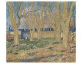 The Blue Train, 1888 Affiches par Vincent van Gogh