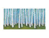 Springtime Birches Posters by Lisa Congdon