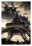 The Eiffel Tower (vertical) Prints by Mark Verlijsdonk
