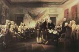 The Declaration of Independence Plakater af John Trumbull