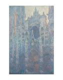The Portal of Rouen Cathedral in Morning Light, 1894 Prints by Claude Monet
