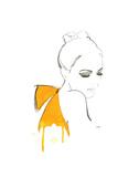 The Yellow Bow Affiche par Jessica Durrant