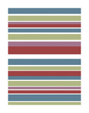 Tutti-frutti Stripes Posters by Denise Duplock