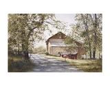La maison sur la route Posters par Ray Hendershot