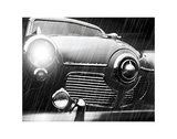 Studebaker Rain Poster by Richard James