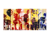 Sunset and Palms 1 Prints by Sven Pfrommer