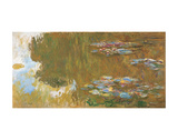 The Water Lily Pond, c. 1917-19 Prints by Claude Monet