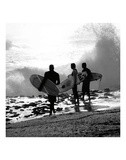 Surfers Prints by Harold Silverman