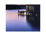 Sunset Dock Prints by Derek Jecxz