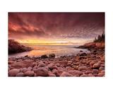 Sunrise, Monument Cove Prints by Michael Hudson
