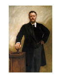Theodore Roosevelt, 1903 Prints by John Singer Sargent