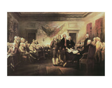 The Declaration of Independence Print by John Trumbull