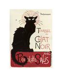Tournee du Chat Noir Plakat av Theophile-Alexandre Steinlen