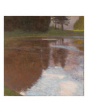 Tranquil Pond Prints by Gustav Klimt