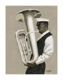 Tuba Player Prints by William Buffett
