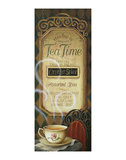 Tea time Menu Poster von Lisa Audit