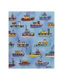 Tugboats Prints by Brian Nash