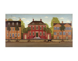Town Houses I Prints by Diane Ulmer Pedersen
