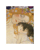 The Three Ages of Woman (detail) Giclee Print by Gustav Klimt