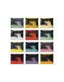 Andy Warhol - Twelve Electric Chairs, 1964/65 - Poster